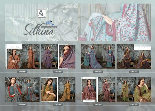 Alok Suit Silkina