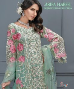 Asifa Nabeel Embroderd Collection Shree Fabs