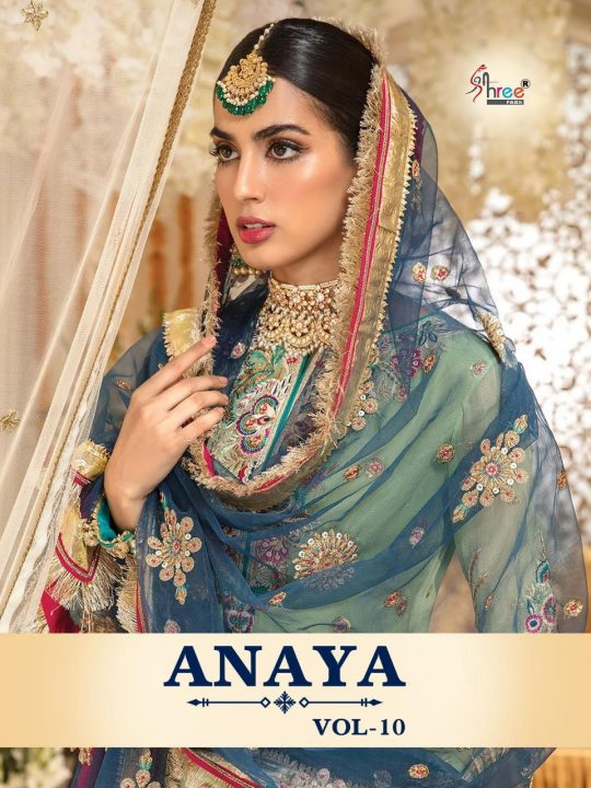 Shree Fab ANAYA VOL -10