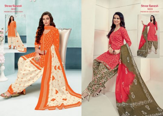 Shree Ganesh Panchi Vol 2 Readymade Salwar Kameez