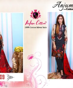 Anjum Cotton Collection Nafisa Cottan Salwar Kameez
