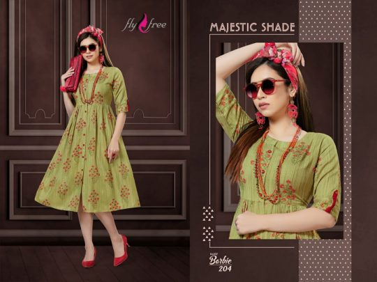 FLY FREE BARBIE VOL 2 Kurti