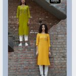 Four Buttons Colors 6 Kurti