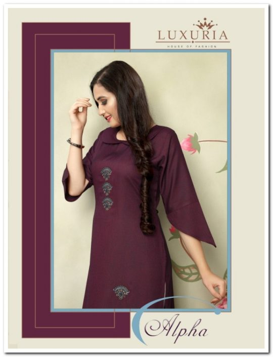 House Of Fashion Luxuria Alpha Kurti