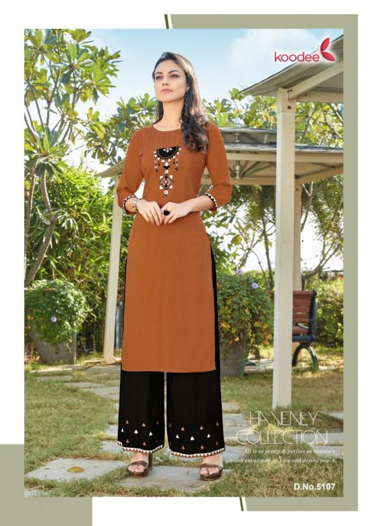 Koodee Atc Vol 2 Kurti with Plazzo