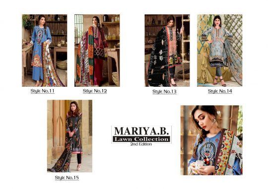 Mariya B Lawn Collection 2nd Edition Salwar Kameez