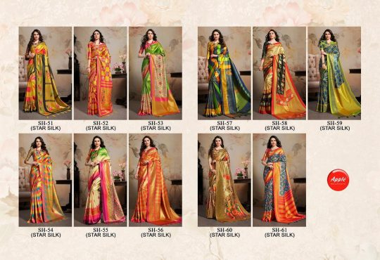 Saheli Vol 2 Apple Saree