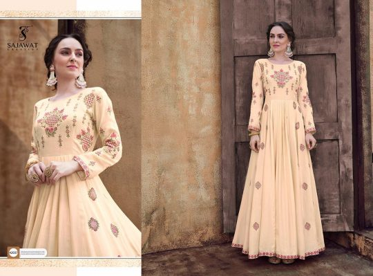Sajawat Creation Rangriti Gown