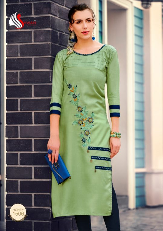 Sawan creation honey vol 15 Kurti