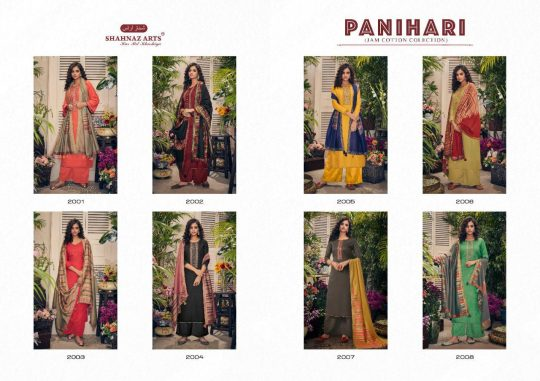 Shahnaz Arts Panihari In Cotton Salwar Kameez