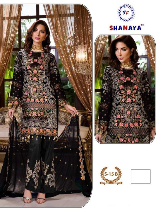 Shanaya Fashion S-15 Colors Salwar Kameez