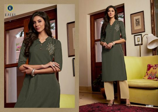 Sunheri Vol 2 Kalki Fashion Kurti