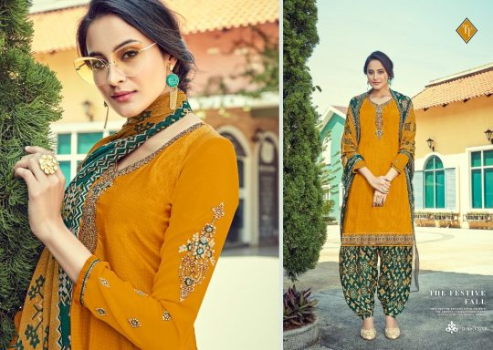 Tanishk Fashion Royal Silk Vol 10 Salwar Kameez