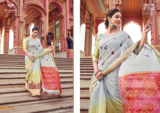 Triveni Trendzs Vol 2 Saree