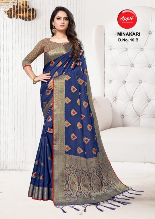 Apple Minakari Vol 10 Saree