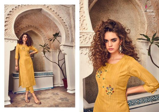 Eba Lifestyle Instagirl Kurti Hello dear customer eba lifestyle presents a new kurtis catalog INSTAGIRL Top - Tussar with Hand Embroidery work iner- pure FT Size 👇👇👇👇👇 M (38),L (40),XL(42),XXL(44)* Rate - 589/- Gst 5%extra Set to set Dispatching- on Wednesday Regard by eba lifestyle Surat
