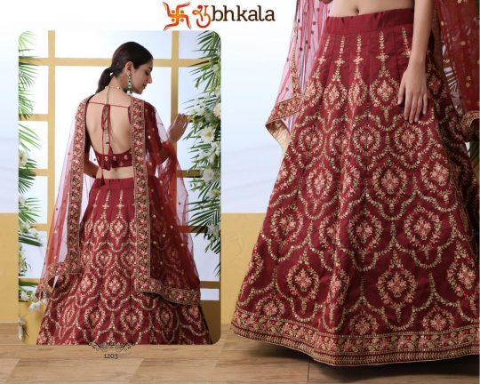 Guldasta Vol 4 Bridal Lehenga Choli