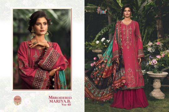 Mbroidered Mariya B Vol 10 Shree Fabs Salwar Kameez