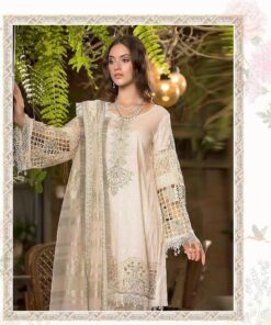 White Heavy Embroidery Pakistani Suits