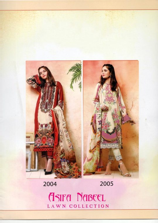 Asifa Nabeel Lawn Collection Vol 2