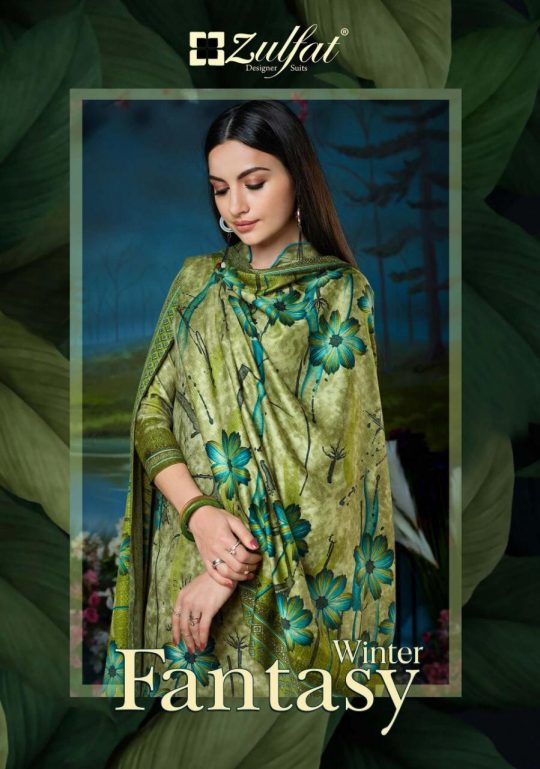 Winter Fantasy Vol 2 Zulfat Designer Suits