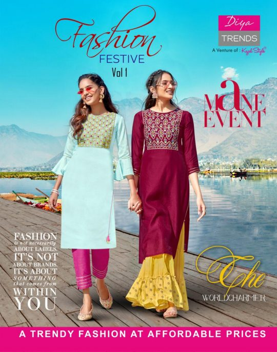 Diya Trends Fashion Festive Vol 1