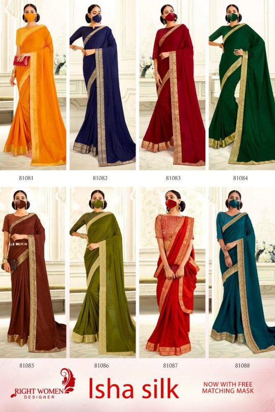 Right Women Designer Isha Silk