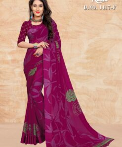 Ruchi Sarees Blueberry 1417 Saree