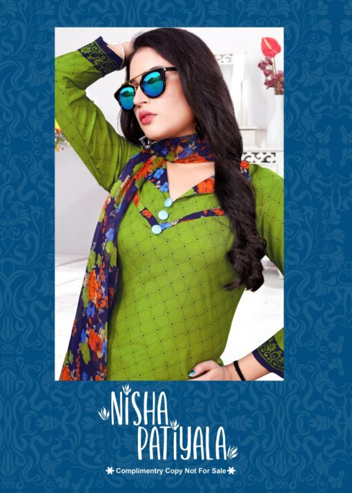 DHANLAXMI FASHION NISHA PATIYALA VOL-1 Salwar Kameez
