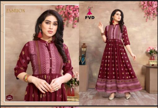 FVD Golden city Kurti