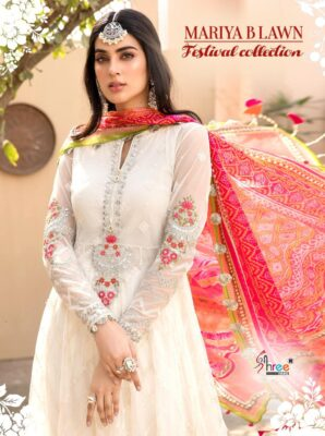 Maria B Lawn Festival Collection Pakistani Suits Shree Fab