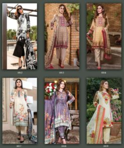 Agha Noor Vol 2 Laxury Lawn Dress Material